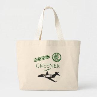 Más verde certificada que Gore Bolsa Tela Grande