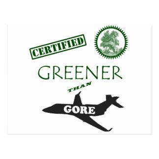 Más verde certificada que Gore Postal