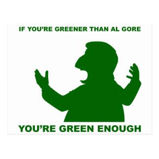 Más verde que Gore Postal