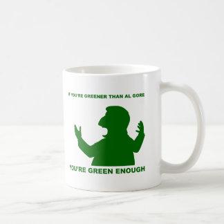 Más verde que Gore Taza De Café