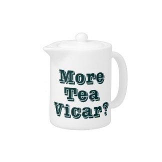¿Más vicario del té