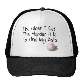 Más viejo consigo gorras
