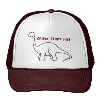 Más viejo que el gorra del dinosaurio de la sucied