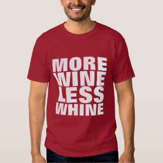 Más vino camisas