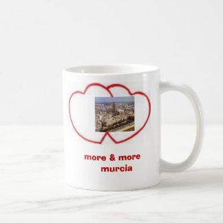 más y más campaña de Murcia Taza