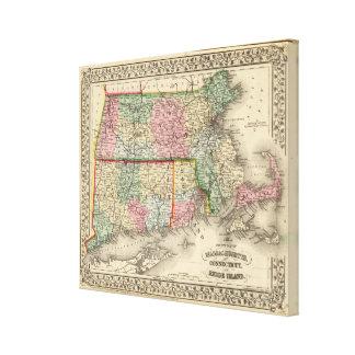 Masa, conec, mapa de RI de Mitchell Lona Estirada Galerias