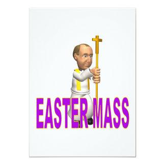 """Masa de Pascua Invitación 5"""" X 7"""""""