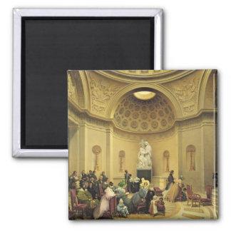 Masa en la capilla expiatoria, 1830-48 imán cuadrado