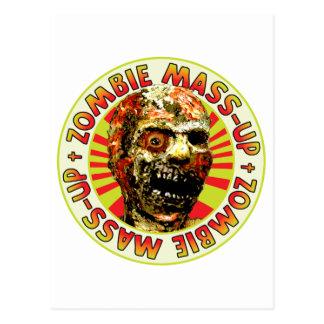 Masa-Para arriba del zombi Tarjetas Postales