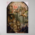 Masa para la orden de Trinitarians, 1666 Posters