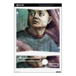 Masaccio - Brancacci Chapel - awakening Theophilus Xbox 360 S Console Decal