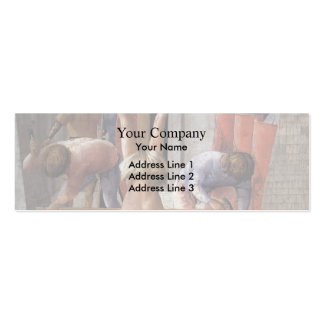 Masaccio- Crucifixion of St Peter Business Card Template