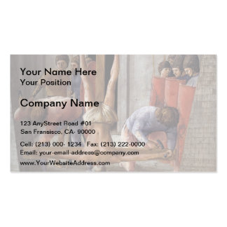 Masaccio- Crucifixion of St Peter Business Cards