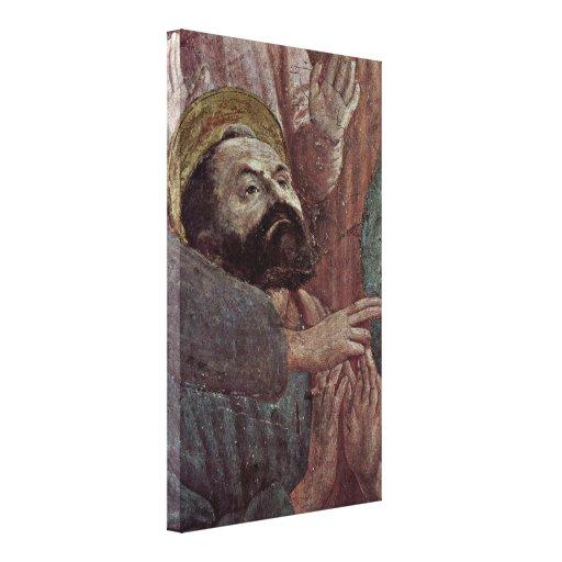 Masaccio - Head of Paul Canvas Print