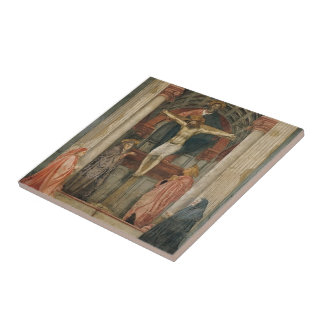 Masaccio: La trinidad Teja Cerámica
