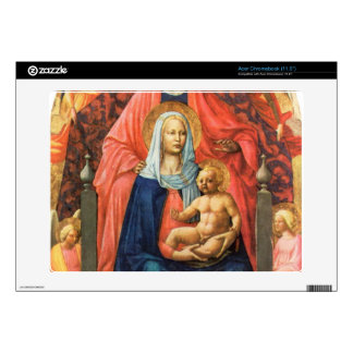 Masaccio - St Anna Mary with child and five angels Decal For Acer Chromebook