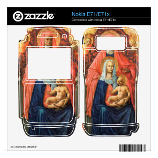 Masaccio - St Anna Mary with child and five angels Decal For Nokia E71