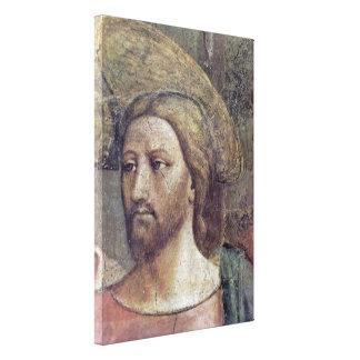 Masaccio - The Tribute Money detail: Christ Canvas Prints