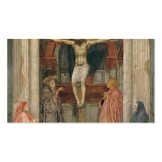 Masaccio The Trinity Business Card