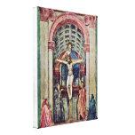 Masaccio - Trinity ??????: De Drie-Eenheid Canvas Print