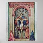 Masaccio - Trinity ??????: De Drie-Eenheid Posters