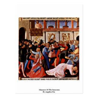 Masacre de los Innocents por Angelico Fra Postal