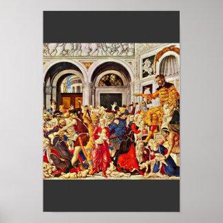 Masacre de los Innocents, por Matteo Di Juan ( Posters