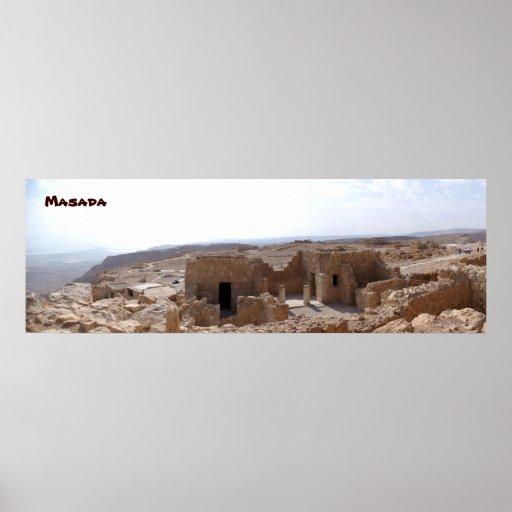Masada Posters