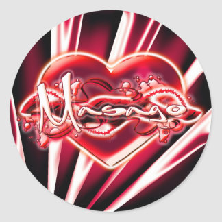Masago Classic Round Sticker