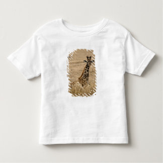 Masai Giraffe, Giraffa camelopardalis, resting Toddler T-shirt