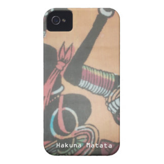 MASAI Hakuna Matata.JPG iPhone 4 Case-Mate Protector
