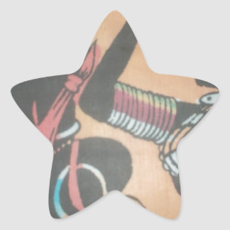 MASAI Hakuna Matata.JPG Star Sticker