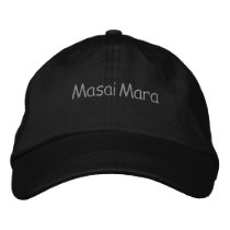 Masai Mara Embroidered Baseball Hat