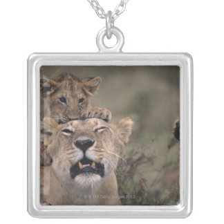 Masai Mara National Reserve 6 Silver Plated Necklace