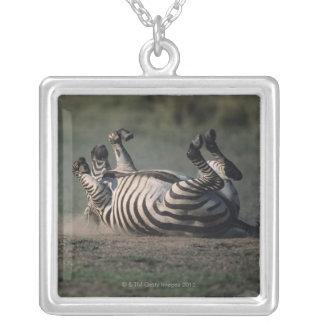 Masai Mara National Reserve, Kenya 2 Silver Plated Necklace