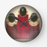 Masai tribal étnico africano hermoso Ornaments.pn Reloj