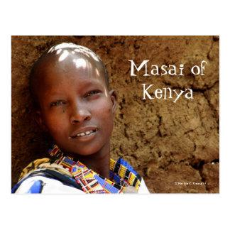 Masai Woman of Kenya Postcard