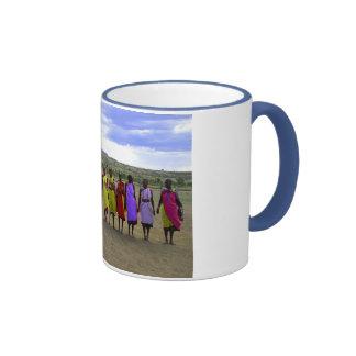 MASAI WOMEN IN KENYA AFRICA COFFEE MUGS