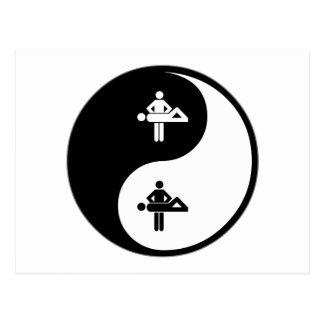 Masaje de Yin Yang Postales