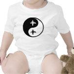 Masaje de Yin Yang Trajes De Bebé