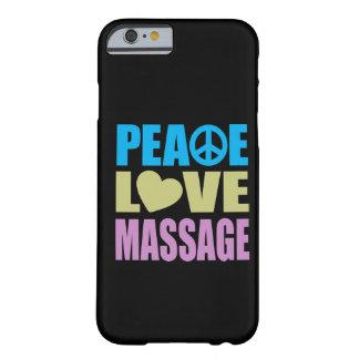 Masaje del amor de la paz funda para iPhone 6 barely there