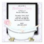 Masaje del baño del balneario y fiesta dulces anuncio