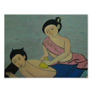 Masaje tradicional tailandés impresiones