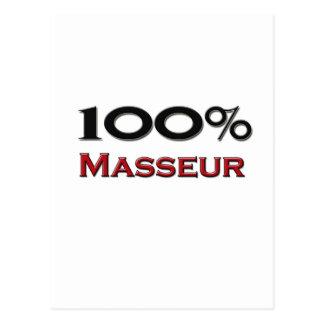 Masajista del 100 por ciento postal