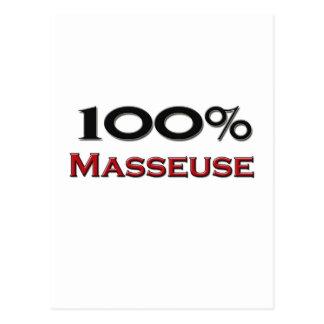 Masajista del 100 por ciento postales
