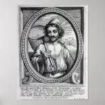 Masaniello, grabado por Petrus de Iode Poster