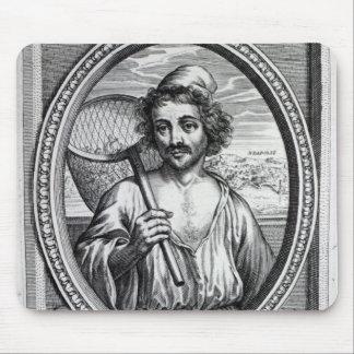 Masaniello, grabado por Petrus de Iode Tapete De Raton