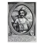 Masaniello, grabado por Petrus de Iode Tarjetas