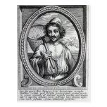Masaniello, grabado por Petrus de Iode Tarjetas Postales