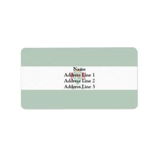 Masaya, New Zealand Address Label